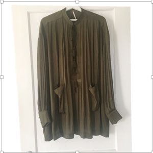 Free People Shirt/Swing Dress, size M